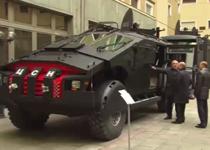 ماشین جنگی جدید روسیه با عنوان «مجازاتگر» رونمایی شد+فیلم