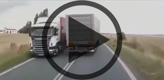 راننده های خوش شانسی که از مرگ جان سالم به در می برند