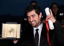 جایزه بهترین بازیگر مرد برای شهابحسینی و بهترین فیلمنامه جشنواره کن به اصغر فرهادی رسید