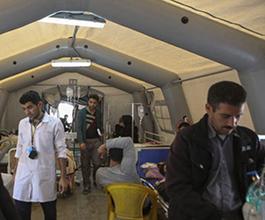 بیمارستان صحرایی برای مبارزه با کرونا در ارومیه راه اندازی می شود